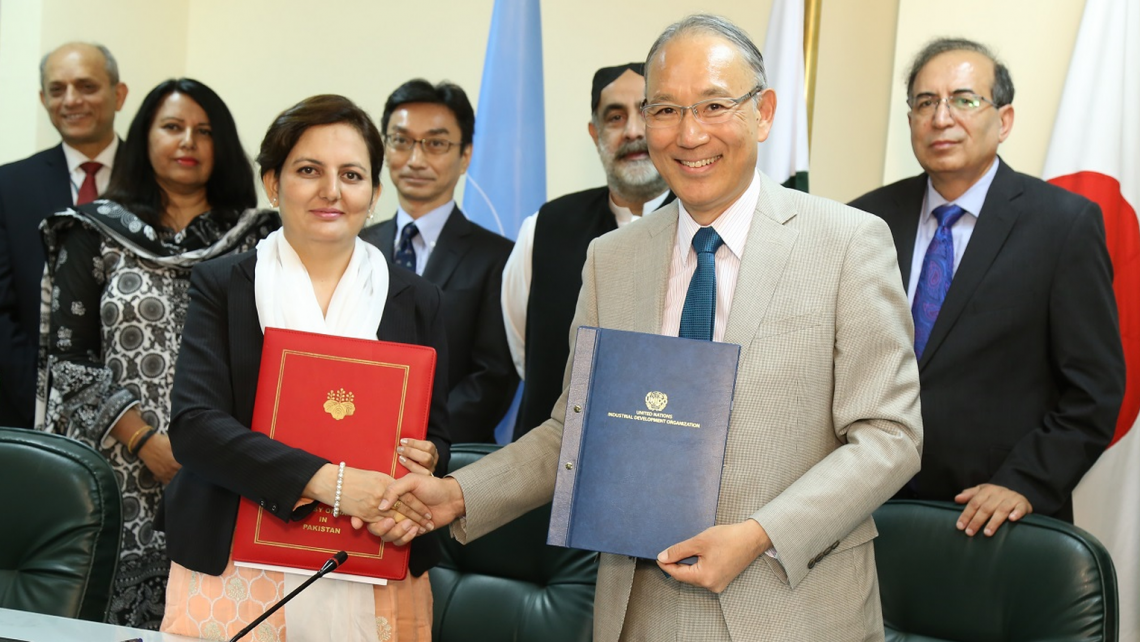 Japan and UNIDO to support Agro-Industry Development in Pakistan