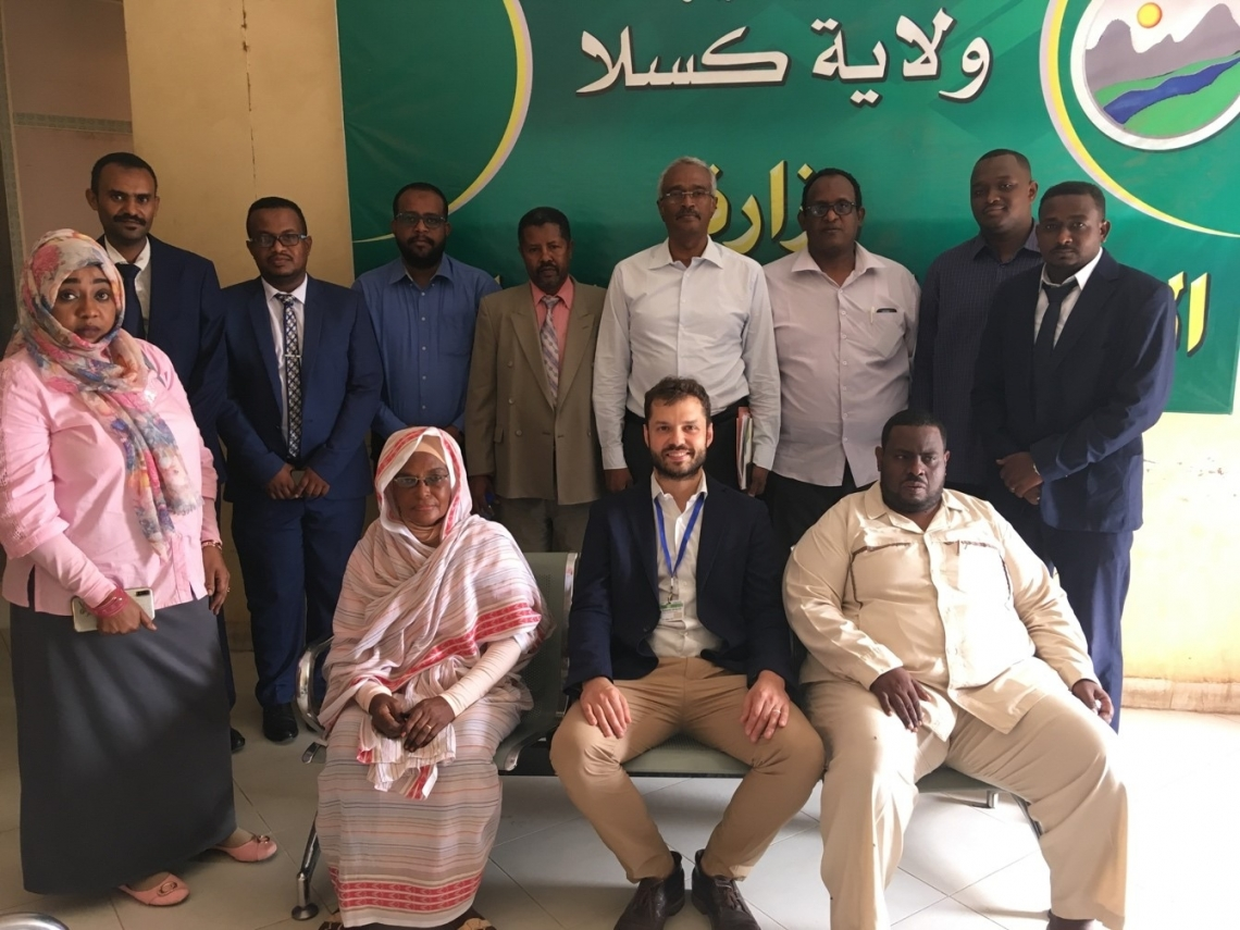 Inaugural meeting of the UNIDO Entrepreneurship Development Committee in Kassala, Sudan