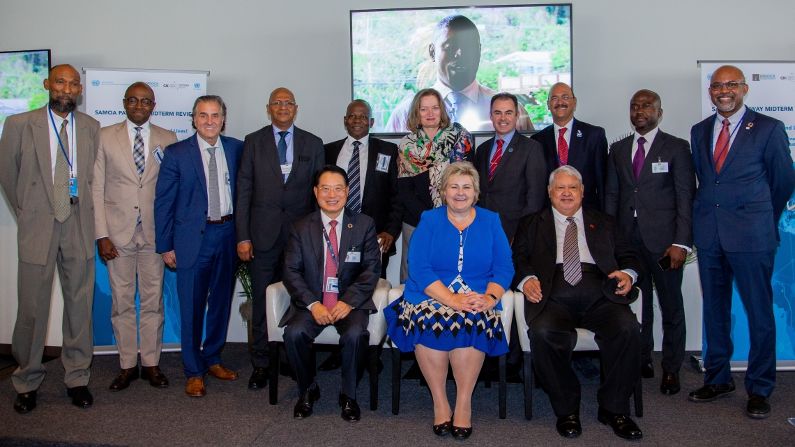 """SAMOA Pathway Midterm Review: """"Mission Transforming Island Lives! The Network of Regional Sustainable Energy Centres for Small Island Developing States"""""""