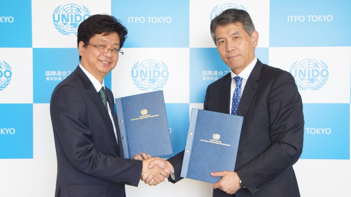 UNIDO and Mitsui to raise awareness of environmental impact of plastic leakage and advocate for more sustainable alternatives to single-use plastic products in Africa