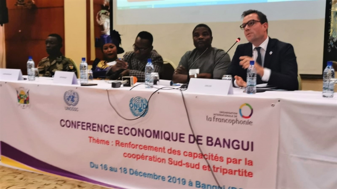 Accelerating economic recovery in the Central African Republic
