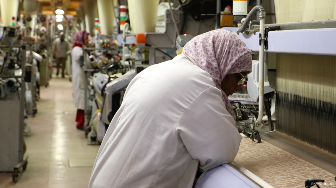 UNIDO and ZDHC Foundation use webinars to support the resilience of SMEs in Moroccan and Tunisian textile and garment industry