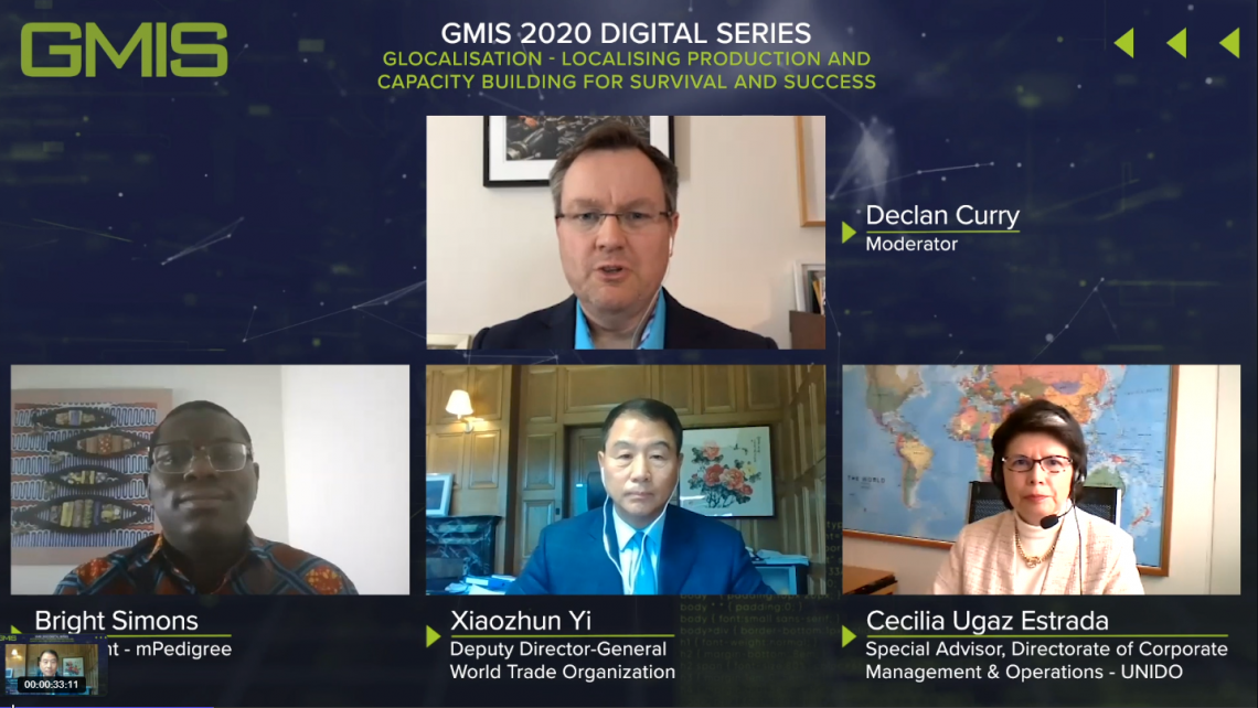 Webinar on glocalization: the effect of COVID-19 and  the 4IR on integration within global value chains