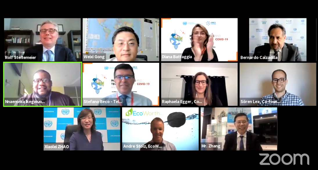 """The winners of the UNIDO Global Call for """"Innovative Ideas and Technologies vs. COVID-19 and beyond"""" are announced"""