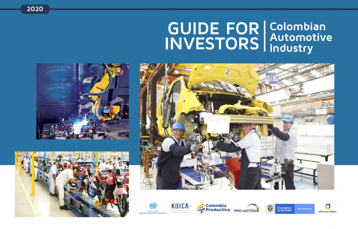 Investment guide for the automotive sector in Colombia published