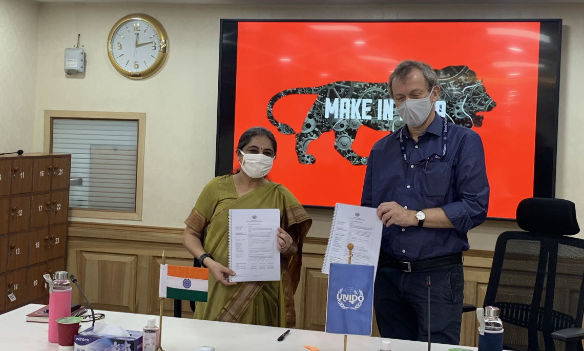 India and UNIDO strengthen partnership for Inclusive and Sustainable Industrial Development