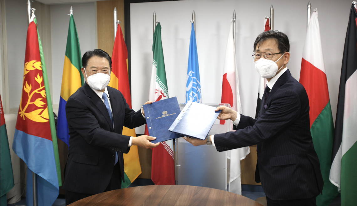 Japan supports ten UNIDO projects with US$7.29 million