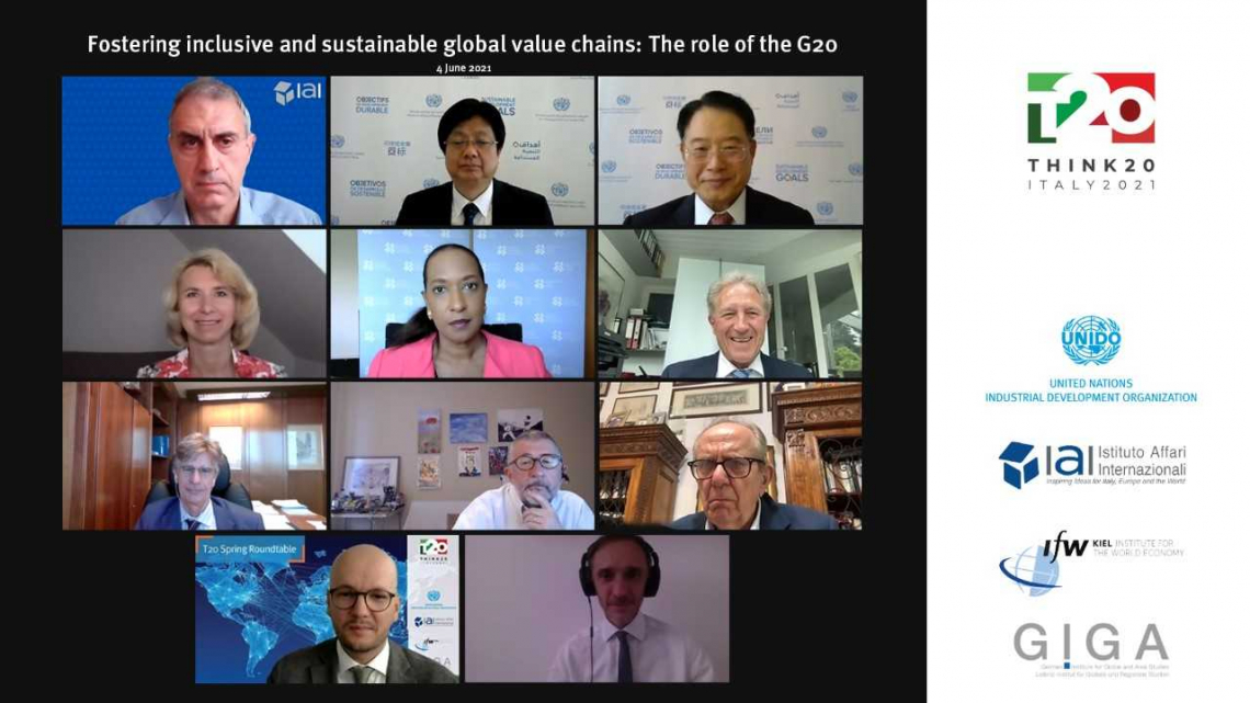 Global value chains in the aftermath of the pandemic: what role for the G20?