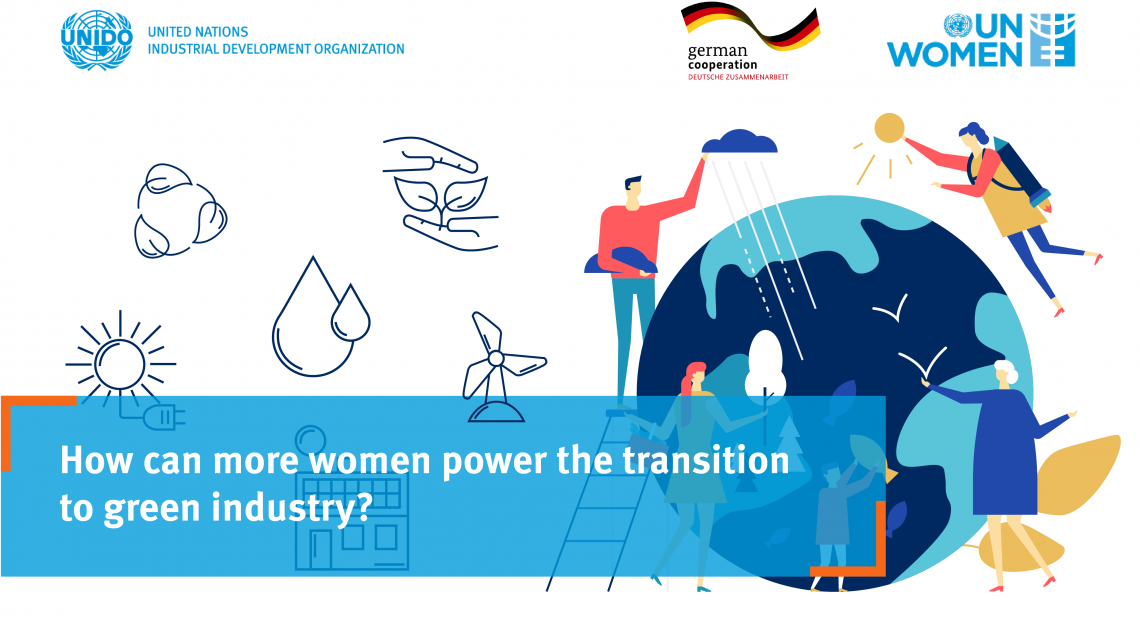 How can more women power the transition to green industry?