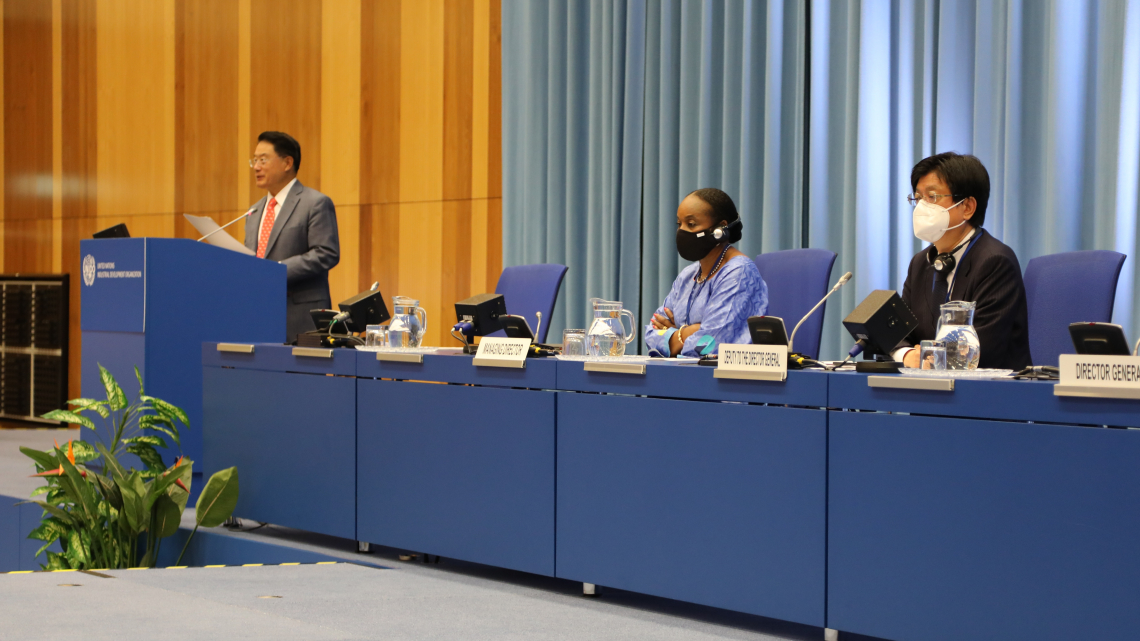 Closing of the 49th Session of the Industrial Development Board