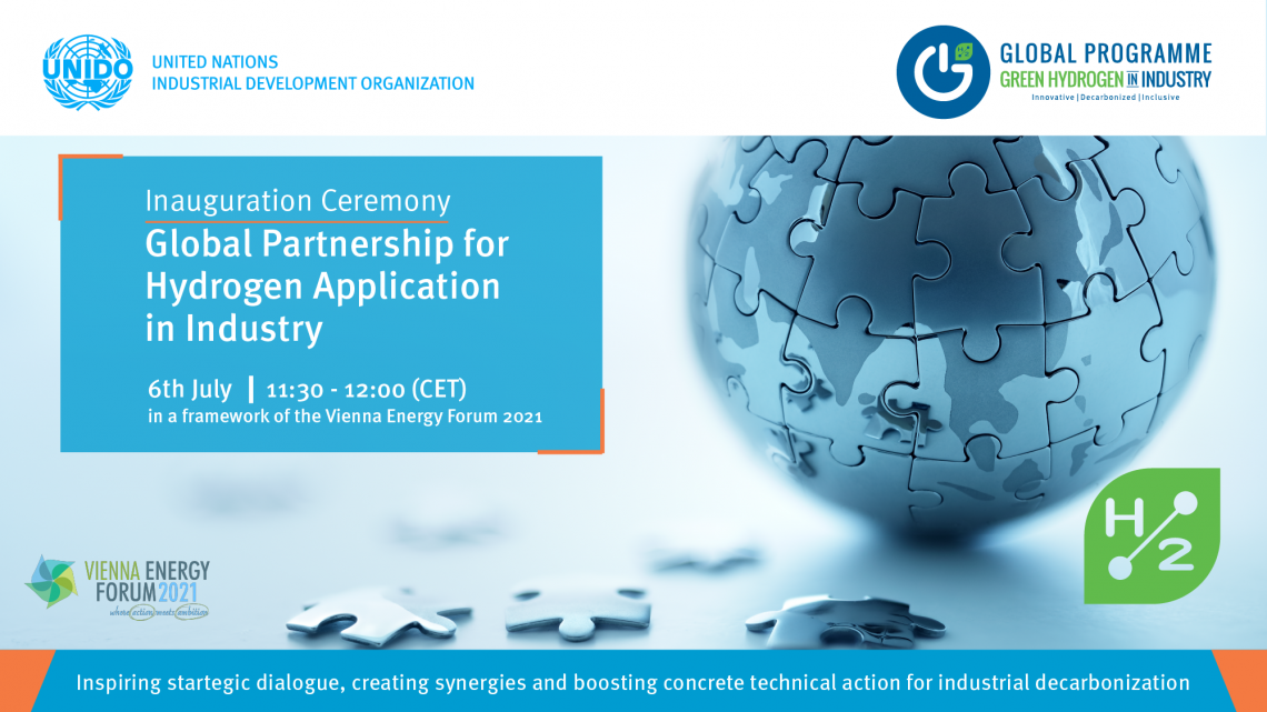 Global Partnership for Hydrogen launched during Vienna Energy Forum