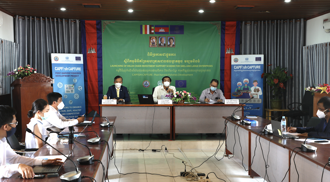 UNIDO launches EU-funded Value Chain Investment Support scheme for post-harvest fisheries in Cambodia