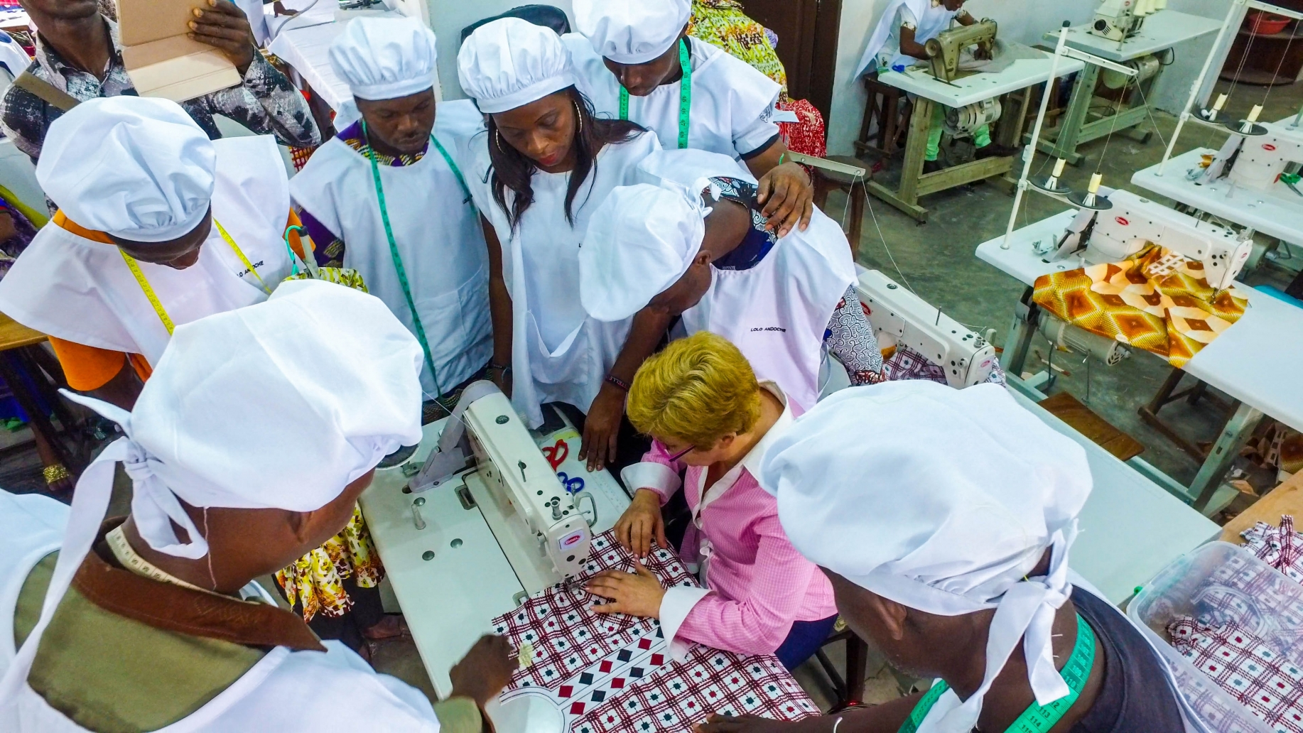 Providing a helping hand to Benin's SMEs
