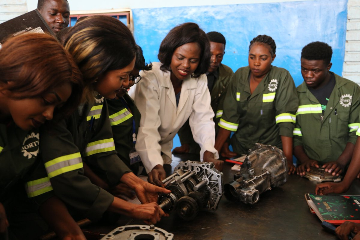 Zambia: heavy equipment engineering's no longer a male-dominated field