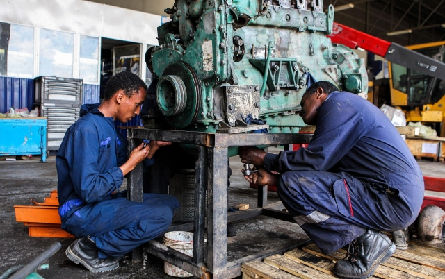Hands-on training in Ethiopia, partnering for a better future