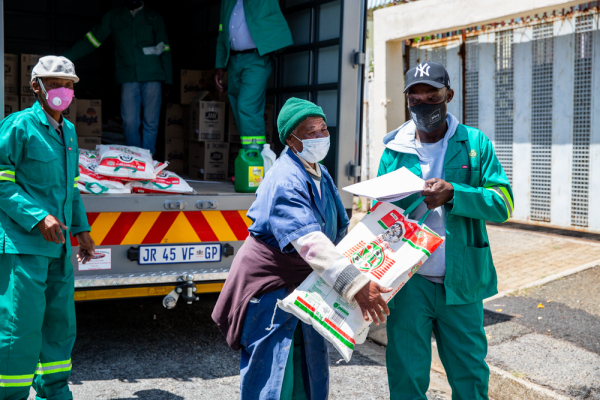 Helping South Africa's waste pickers face the COVID-19 crisis and beyond