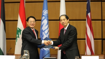 Japan continues to demonstrate strong support for UNIDO projects