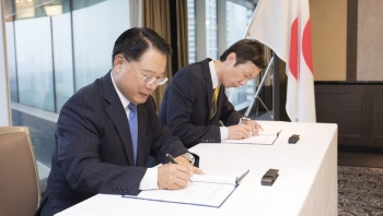 UNIDO works with the Japanese private sector on mercury waste management