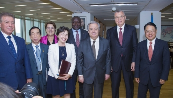 Visit of the Secretary-General of the United Nations to the Vienna International Centre