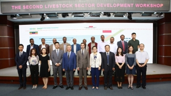 UNIDO and China partner to continue upgrading the Ethiopian livestock value chain