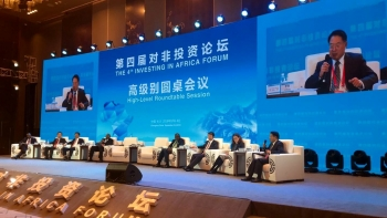 UNIDO Director General praised China-Africa cooperation during 4th 'Investing in Africa' Forum