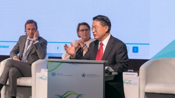 UNIDO Director General at the 3rd BRIDGE for Cities event