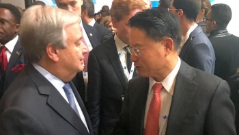 UNIDO Director General attends the Paris Peace Forum