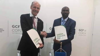UNIDO and GCF formalize partnership