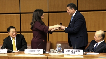 G77's Vienna Chapter chairmanship handover ceremony