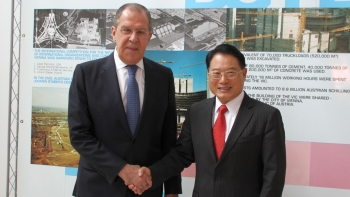Director General LI met with Sergey Lavrov, Minister of Foreign Affairs, Russian Federation