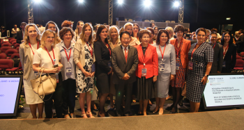 UNIDO's panel session at St. Petersburg International Economic Forum 2019 focused on elevating women's leadership in large businesses to foster economic growth