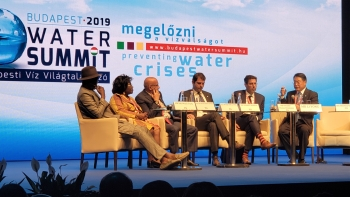 UNIDO supports Budapest Appeal to prevent and manage looming water crises