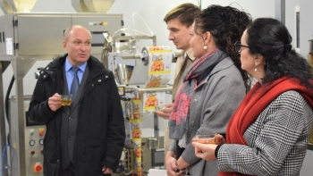 Opening of Eco-Floris tea factory marks successful completion of project in Kyrgyzstan