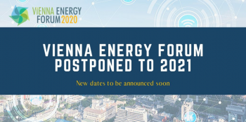 Vienna Energy Forum postponed until 2021