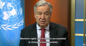 UN chief calls for domestic violence 'ceasefire' amid 'horrifying global surge'