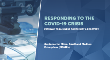 New publication: Business continuity and recovery from the COVID-19 crisis