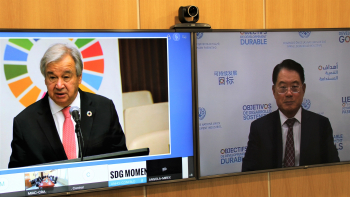 SDG Moment convened by the United Nations Secretary-General