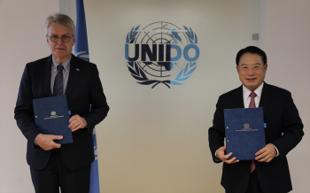 Germany and UNIDO partner to help countries in Africa fight against COVID-19