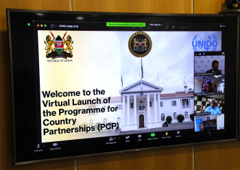 Launch of Kenya PCP self-starter