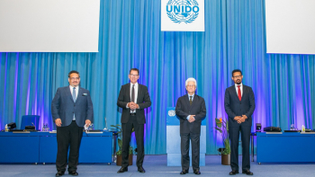 Candidates for the post of Director General of UNIDO meet Member States