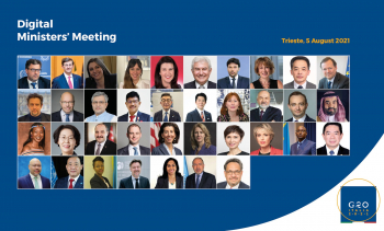 UNIDO participates in the G20 Digital Ministers' Meeting 2021