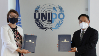 UNIDO, Finland agree to strengthen cooperation on developing the natural resources sector and the circular economy in developing countries