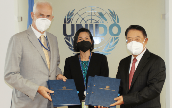 Germany and UNIDO strengthen cooperation in Latin America and the Caribbean and boost trade capacity-building worldwide